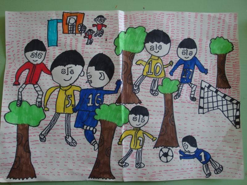 小学四年级美术作品图片大全下载;